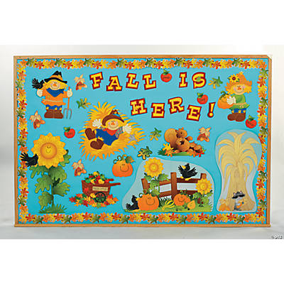 Fall Harvest Bulletin Board Set