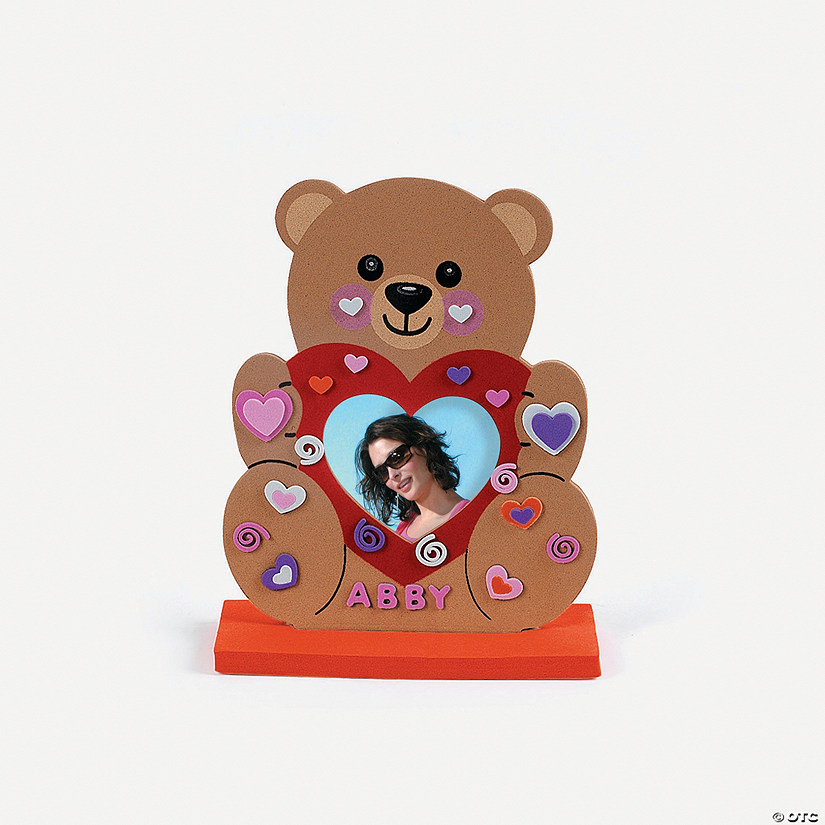 Fabulous Foam Stand-Up Teddy Bear Frames - Discontinued