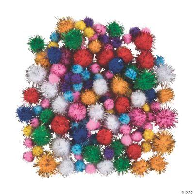 Glitter Pompoms