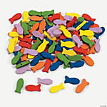 100 Colorful Fish Beads