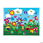 12 DIY Flower Garden Sticker Scenes
