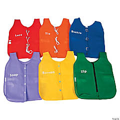 6 I Can Dress Myself Vinyl Dressing Vests