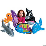 6 Inflatable Under The Sea Giant Animals