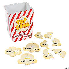 Popcorn Compound Words Activity