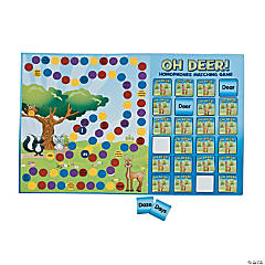 """Oh Deer!"" Homophones Matching Game"