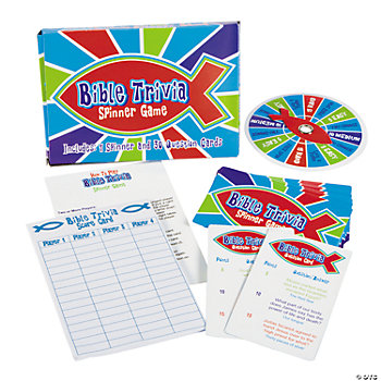 Bible Trivia Spinner Game