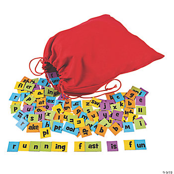 117 Pc. Word Building Tile Set