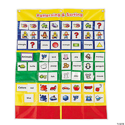 Patterning & Sorting Pocket Chart