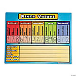 Place Values Dry Erase Board Set