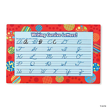 24 Learning To Write Cursive Mats