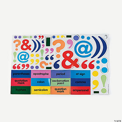 Punctuation Magnets