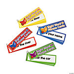 4 Pc. Sight Word Phrases Flip Book Set