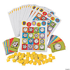 Learning Time Bingo Game