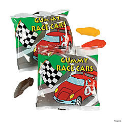 Gummy Race Car Treat Bags