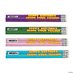 """Happy Birthday From Your Teacher"" Pencils"