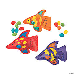 Tropical Fish Bags with Jelly Beans