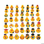 Vinyl Rubber Ducky Assortment
