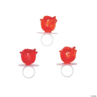 Rose-Shaped Ring Suckers