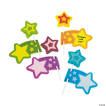 Motivational Star Suckers