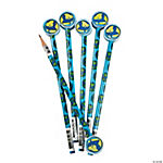 Earth Pencils With Globe Eraser Toppers