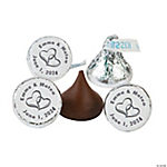 Personalized Two Hearts Stickers For Hershey's® Kisses®