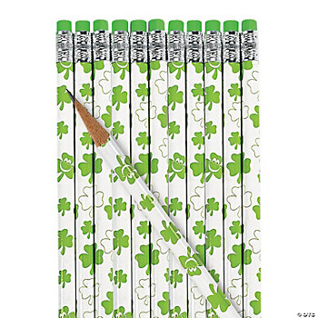 St. Patrick's Day Pencils