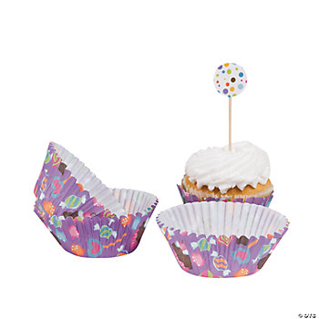 Sweet Treat Baking Cups With Picks