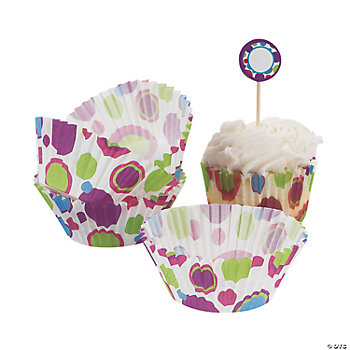 Bubble Bop Baking Cups With Picks
