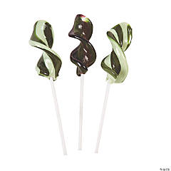 Camouflage Colors Twist Pops