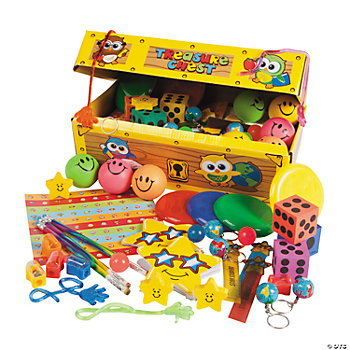 "100 Pc. School ""Treasure Chest"" Assortment"