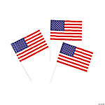 Small American Flags - 6