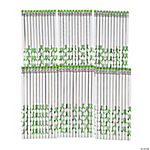 Personalized Green Awareness Ribbon Pencils