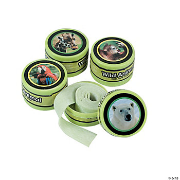 Wildlife Roll Tape Gum