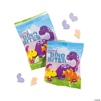 Spring Dinosaur Candy Fun Packs