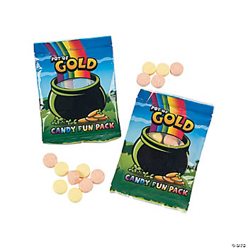 """Pot Of Gold"" Candy Fun Packs"