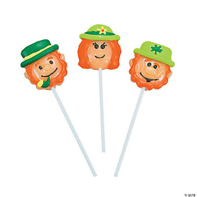 Leprechaun Character Suckers