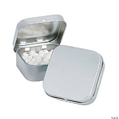Square Mint Tins