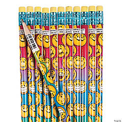 Smile Face Pencils