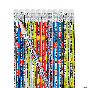 Anti-Bullying Pencils