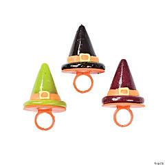 Witches Hat Sucker Rings