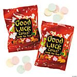 Chinese Good Luck Coin Hard Candy Fun Packs