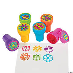 Plastic Flower Stampers