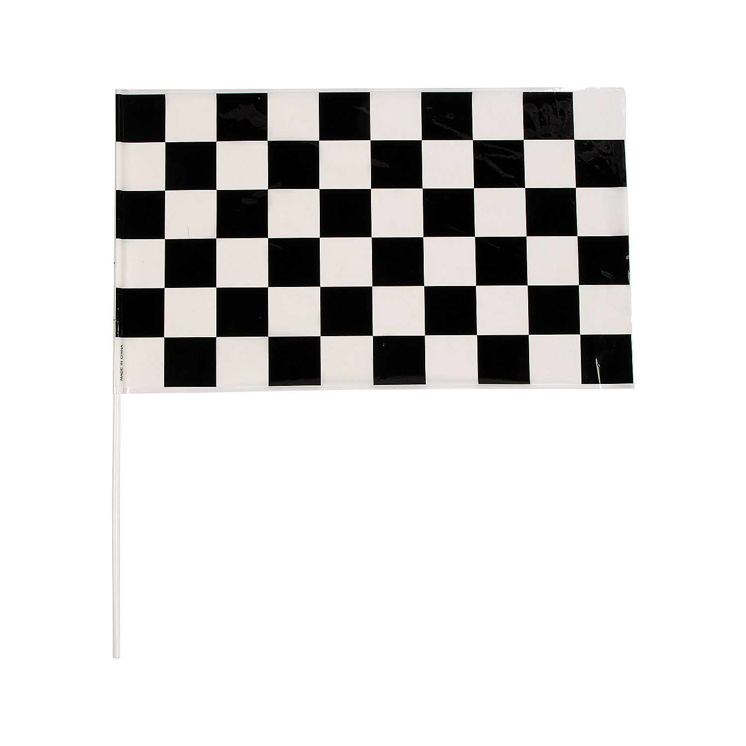 Black amp White Checkered Racing Flags Oriental Trading
