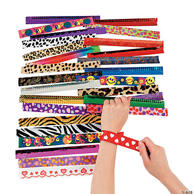 Slap Bracelet Assortment - 50 pcs.