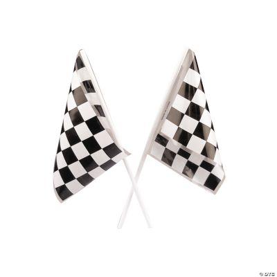 Black & White Checkered Flags