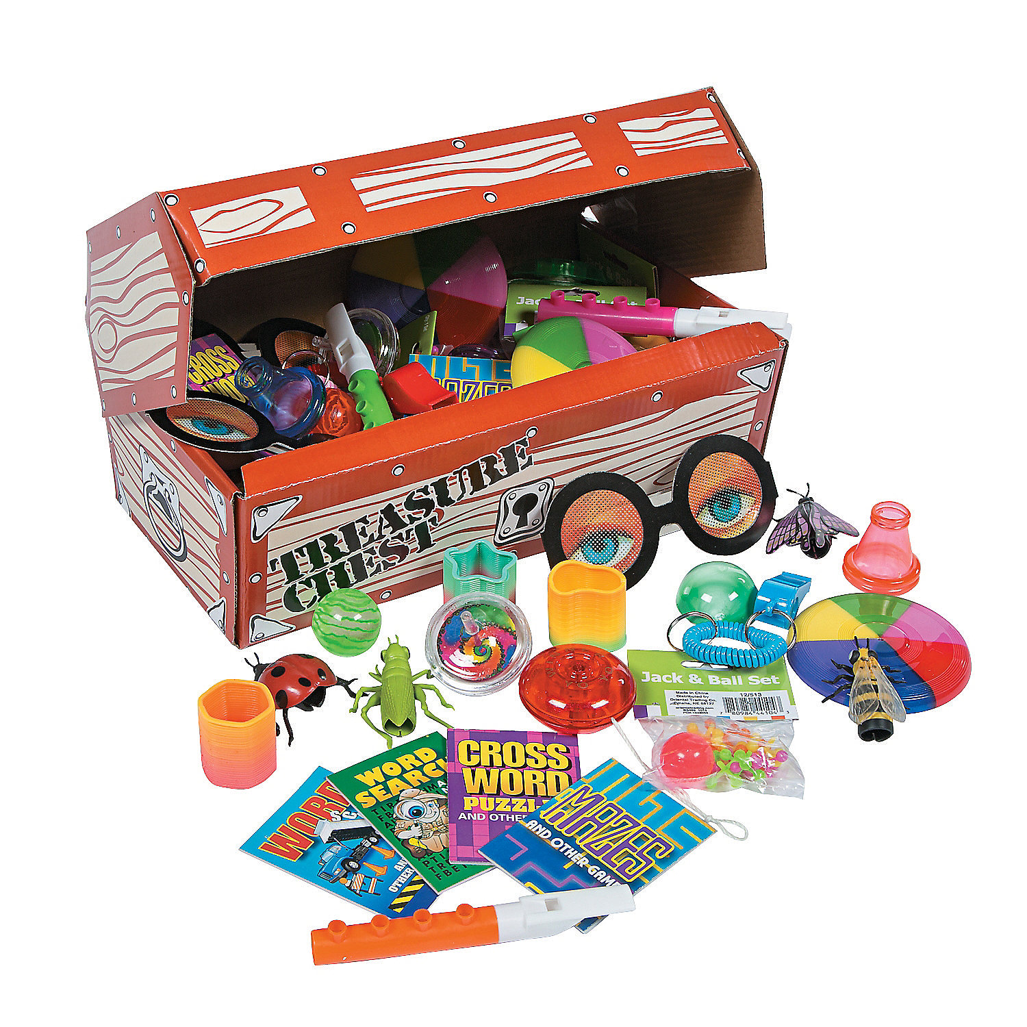 Toy Treasure Chest Beach : Deluxe treasure chest toy assortment oriental trading