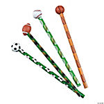 Sport Ball Pencils with Ball Eraser