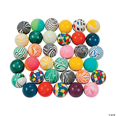 Bouncing Ball Assortment - 50 pcs.