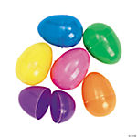 Colorful Bright Easter Eggs