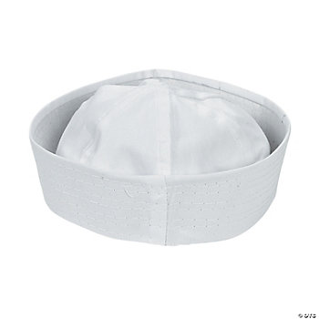 DIY White Sailor Hats